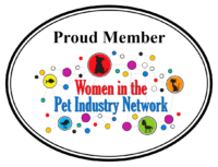 Logo woman in the pet industry