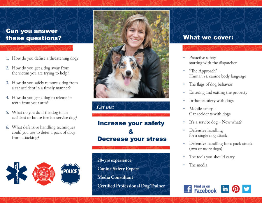 First Responders Aunt Pennys Professional Dog Training