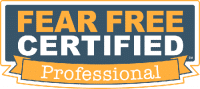 First trainer to achieve Fear Free Certification in Western Pennsylvania..